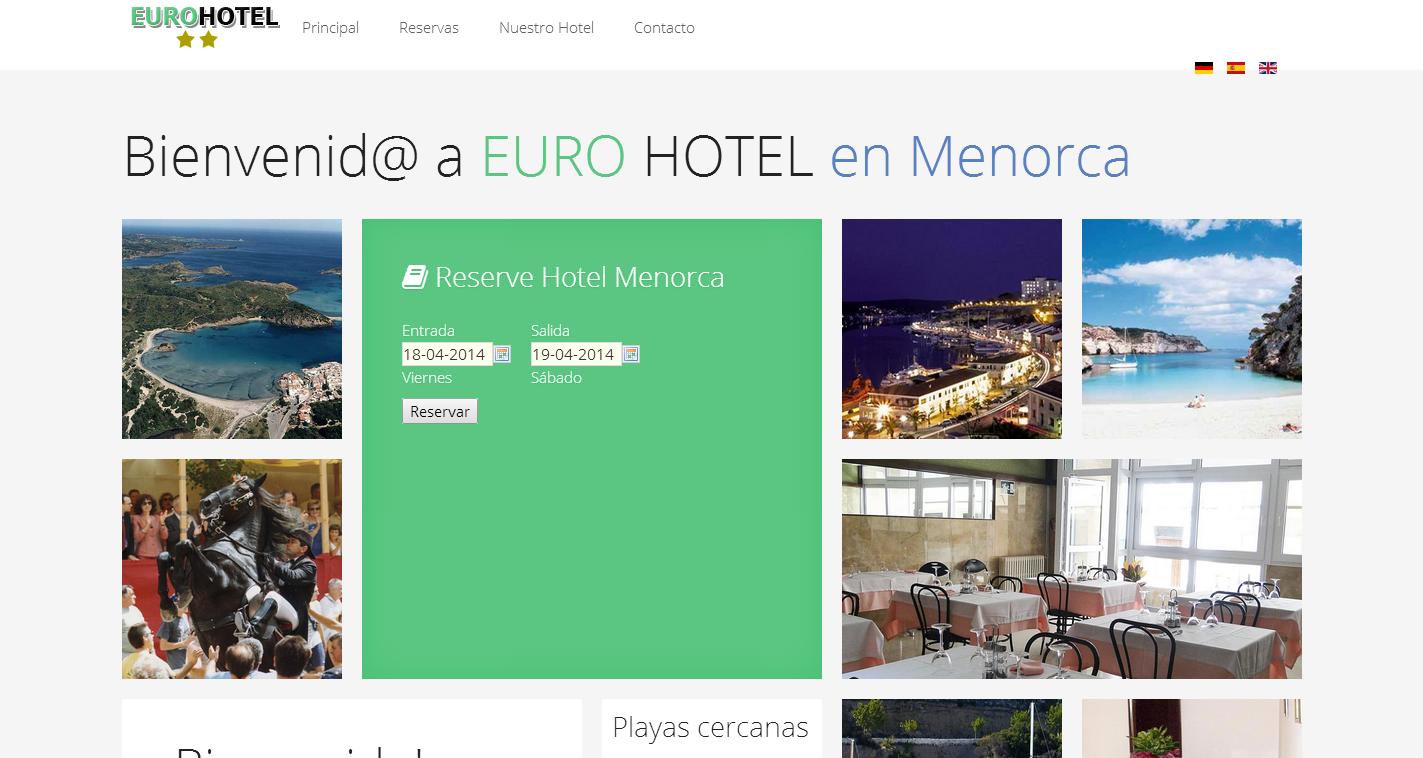 Euro hotel Menorca
